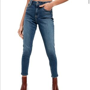Free People Montana High-Rise Skinny Jeans